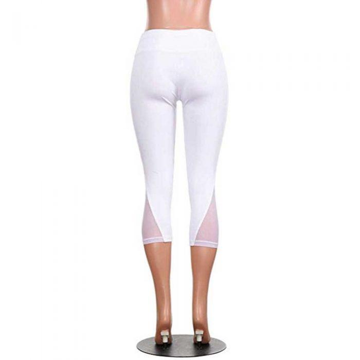 Calf-length See Through Yoga Pants