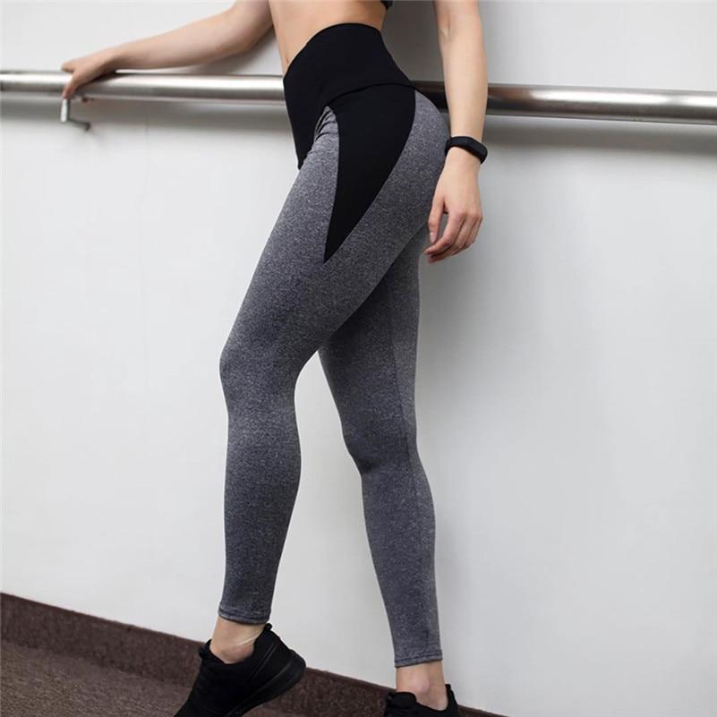 High-waist See Through Yoga Pants
