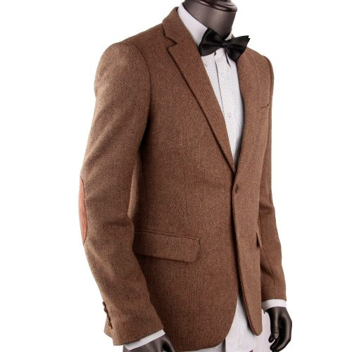 Bespoke Men Tweed Jacket