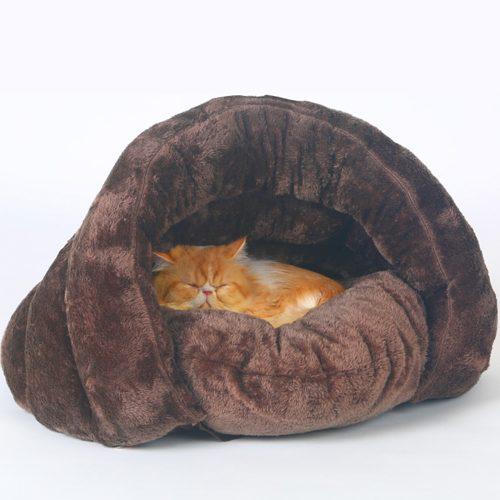 Cozy Cave Cat House