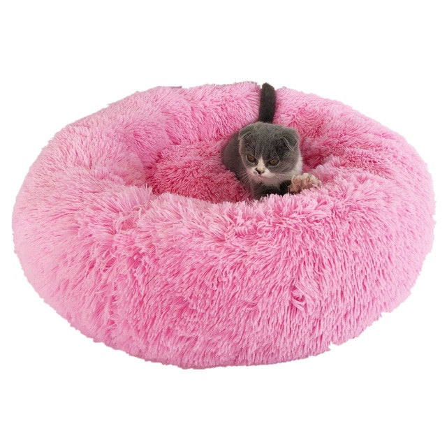 Round Bed Cat House
