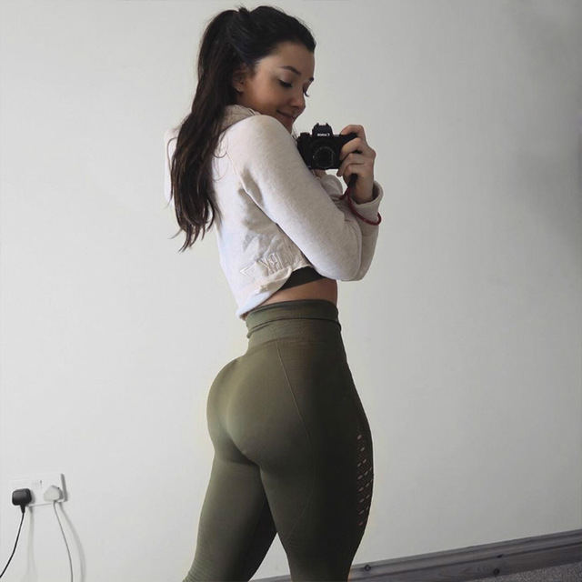 Shark See Through Yoga Pants