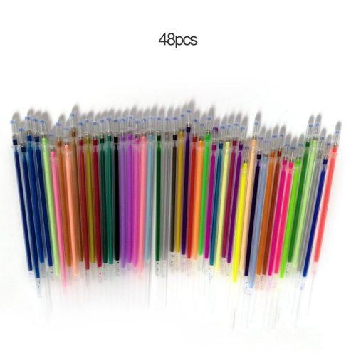 Fluorescent Refill Gel Pens