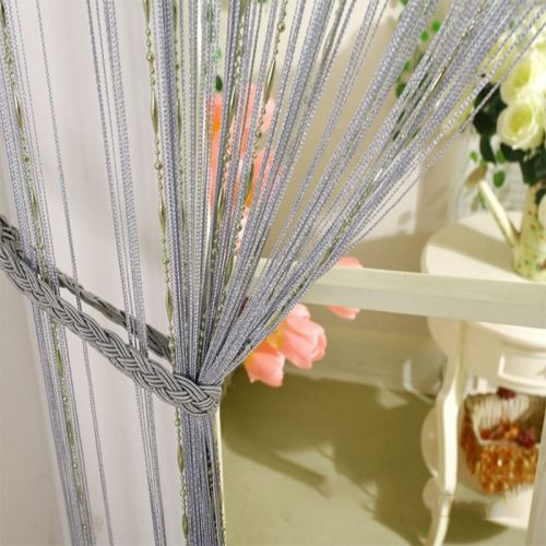 Modern line Beaded Curtains