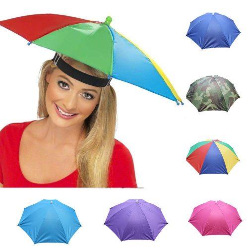Colourful Umbrella Hat