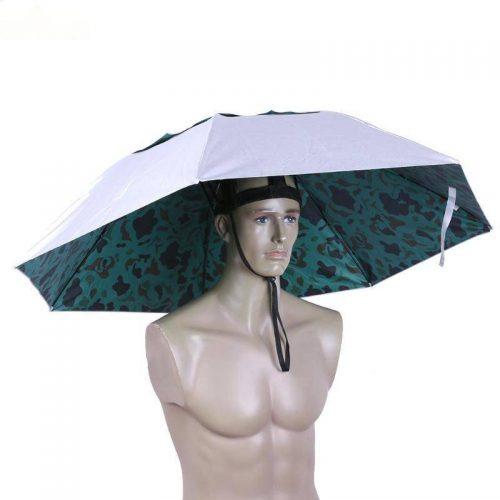 Anti UV Umbrella Hat