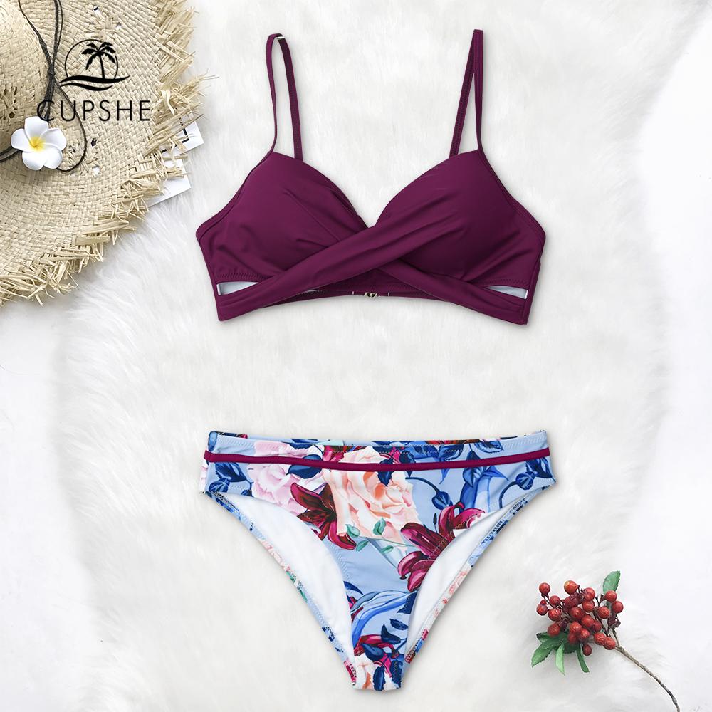 Wrap Thong Bikini Sets