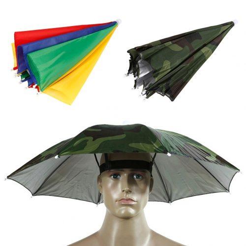 Outdoor Hiking Umbrella Hat