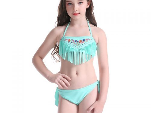 Cute Girls Teen Bikini Swimwear
