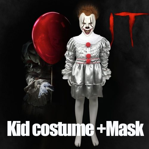 Kids Pennywise Cosplay Joker Costume
