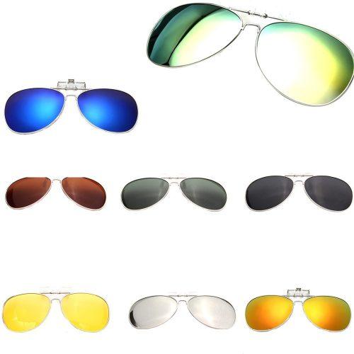 Anti UV Clip On Sunglasses