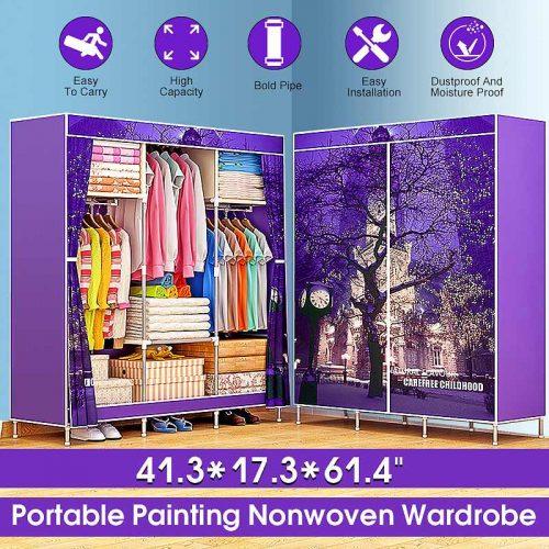 Multi-purpose Non-woven Portable Closet