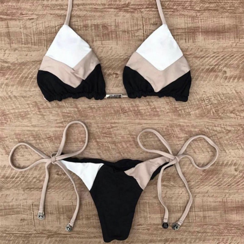 Sexy Halter Micro Thong Bikini
