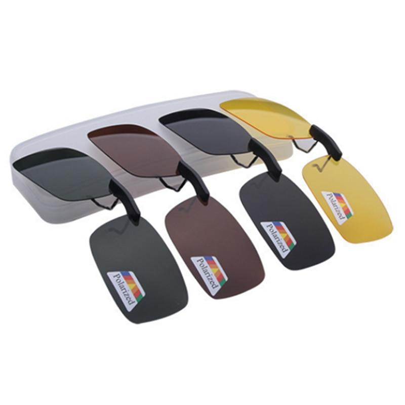 Unisex Polarized Clip On Sunglasses