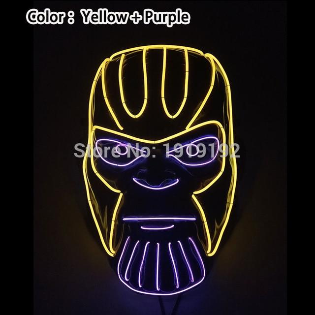 Glowing Horror Purge Mask