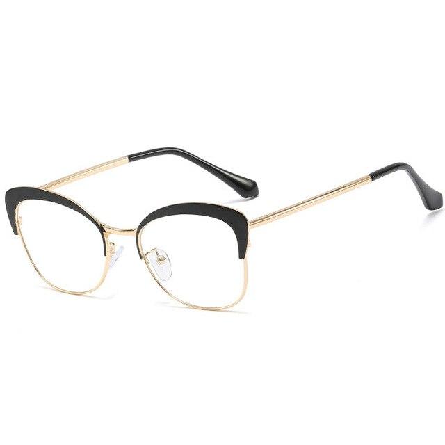 Spring Hinge Hipster Glasses
