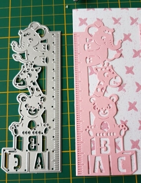 Kids Ruler Animal Stencils