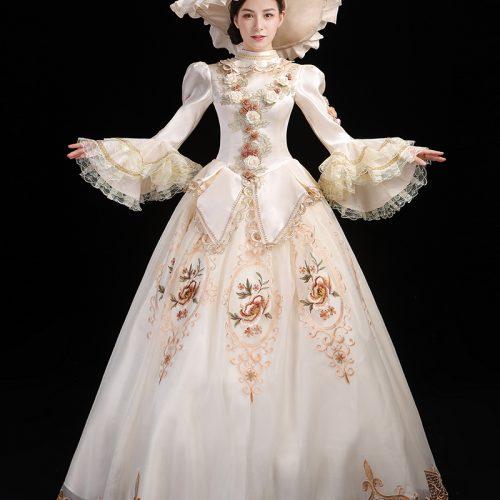 Fancy Long Party Victorian Dresses