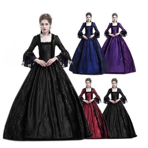 Vintage Women Style Victorian Dresses